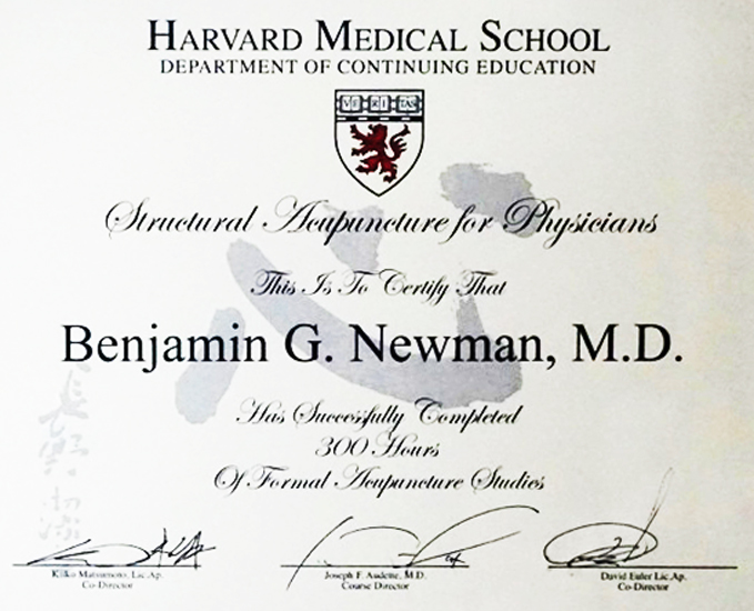 About Benjamin G. Newman, Md - The Village Doctor - Winter Harbor